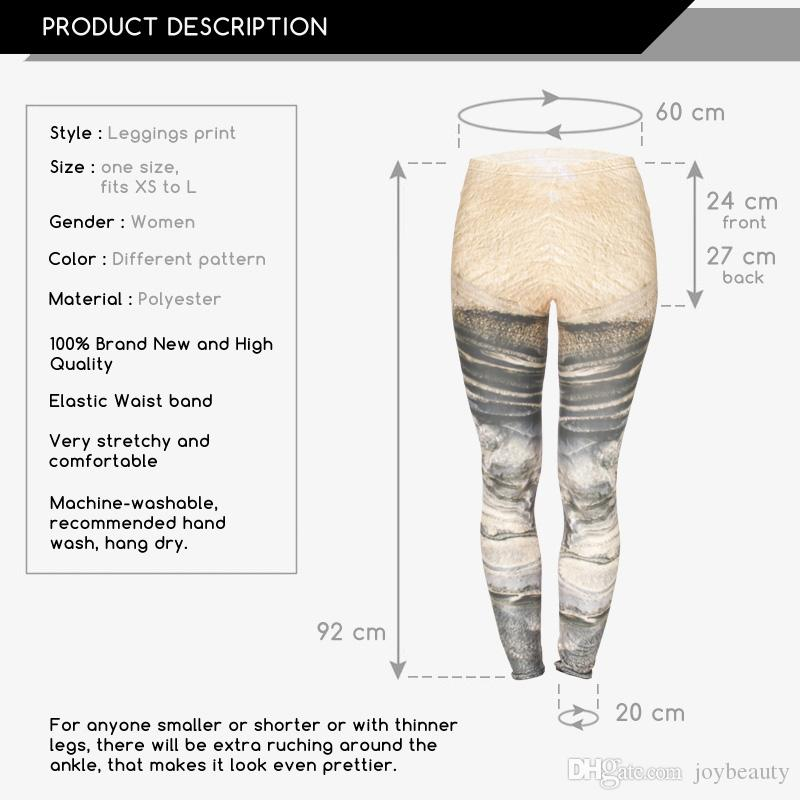Women Leggings Mars 3D Graphic Full Print Lady Skinny Stretchy Casual Yoga Wear Pants Gym Fitness Girl Workout Capris Trousers New J31759