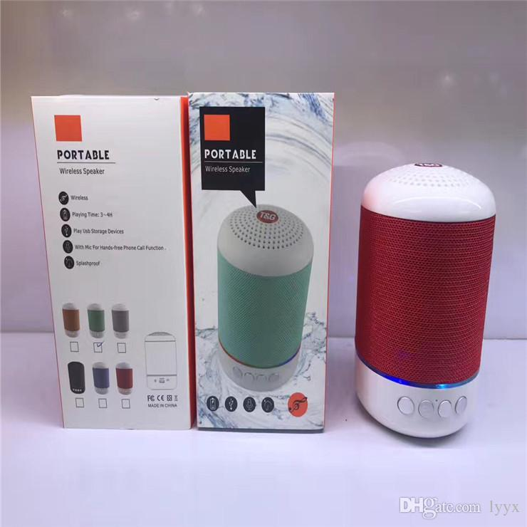 Factory Direct Wireless Bluetooth Card Speaker Mesh Cloth Car Bass Steel Gun Mini Speaker Bluetooth Audio, High Quality,