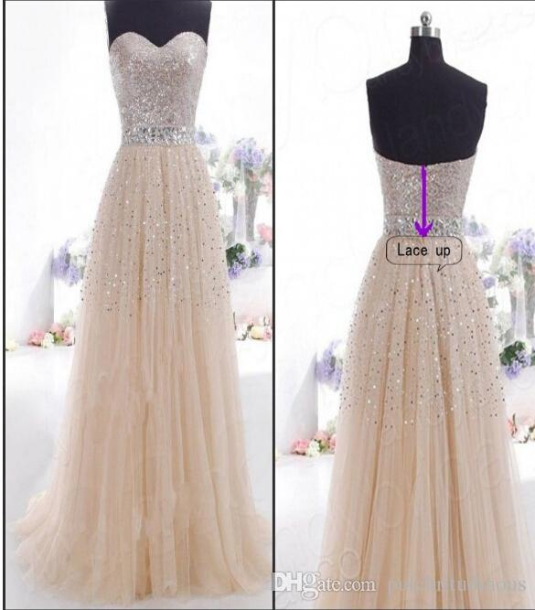 Free Shipping cocktail Sequins Long Formal Prom Dress Party Ball Gown Evening Hot New Dress