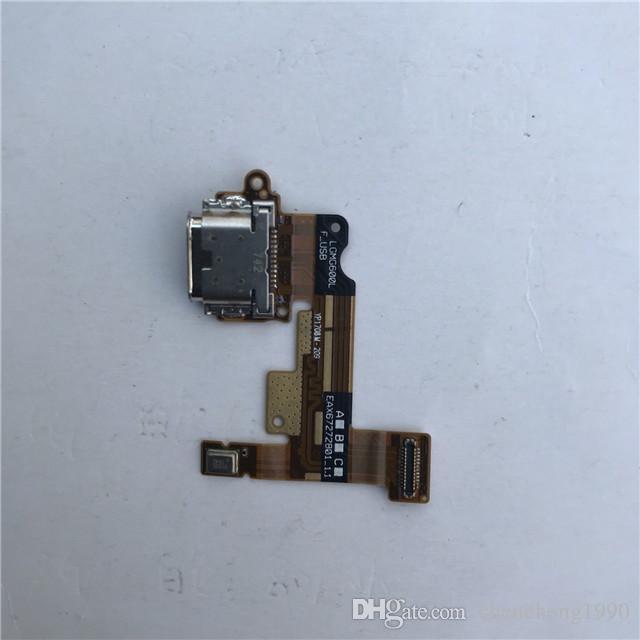 100% OEM Yeni USB Şarj Portu Şarj Dock Bağlantı Flex Kablo Yedek Parçalar LG G6 H870 H871 H872