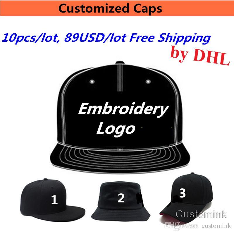 Custom Logo Snapback Caps Blank Hip Hop Hats Customized Baseball
