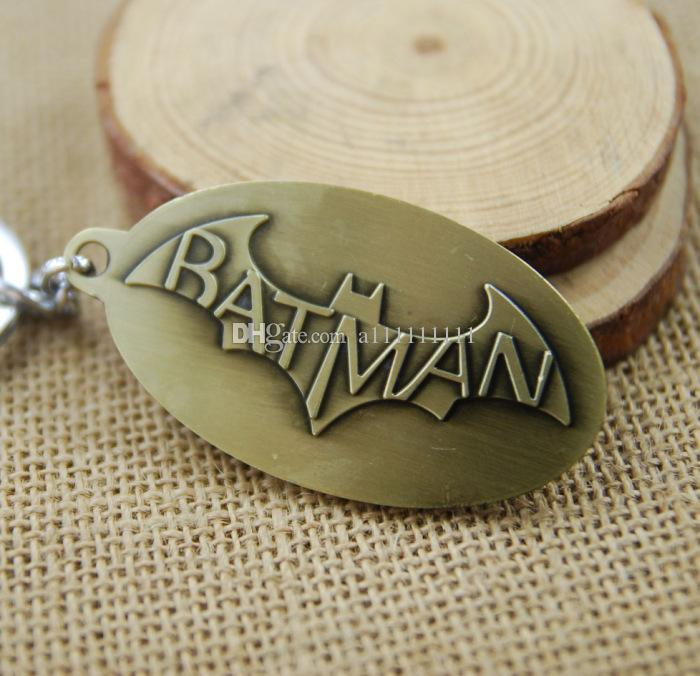 Hot Sale Movie Jewelry Superman Key Chain Batman Pendant Fashion Men Women Key Ring Alloy Keychain