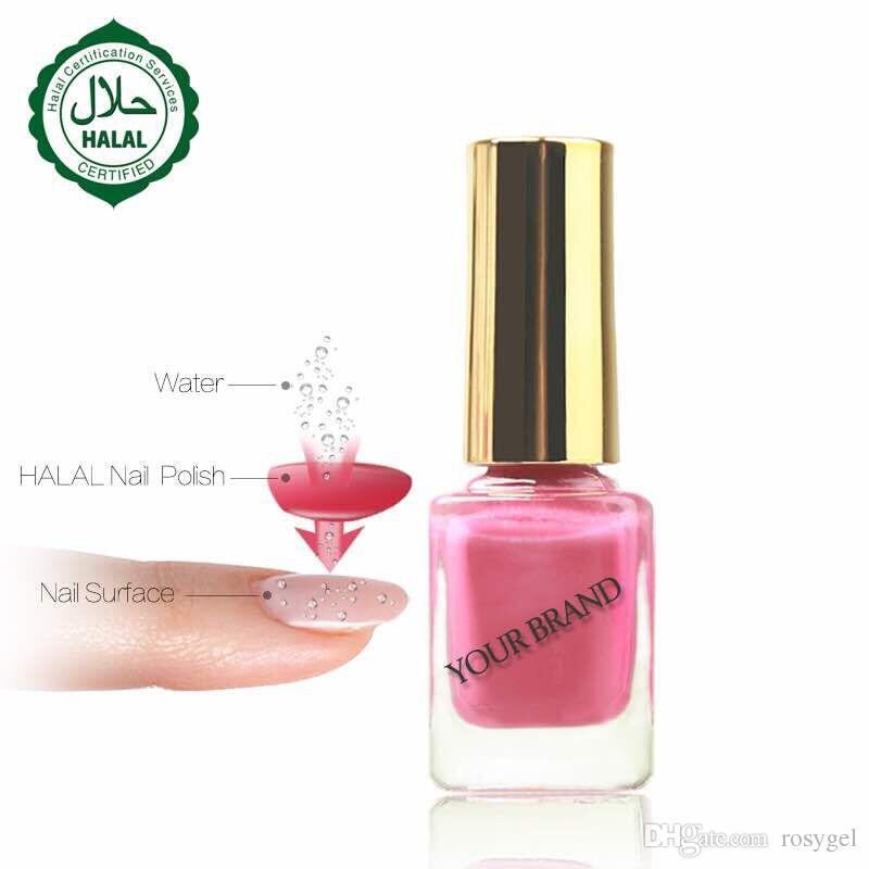 Halal Nail Polish Gel Lacquer Nail Art Beauty Gelish Breathable ...