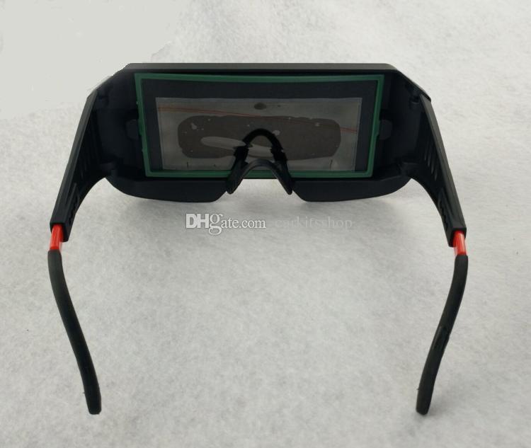 Lunettes de soudure de protection de sécurité assombrissement automatique solaire assombrissant masque de travail ARC TIG MMA MIG, Livraison gratuite