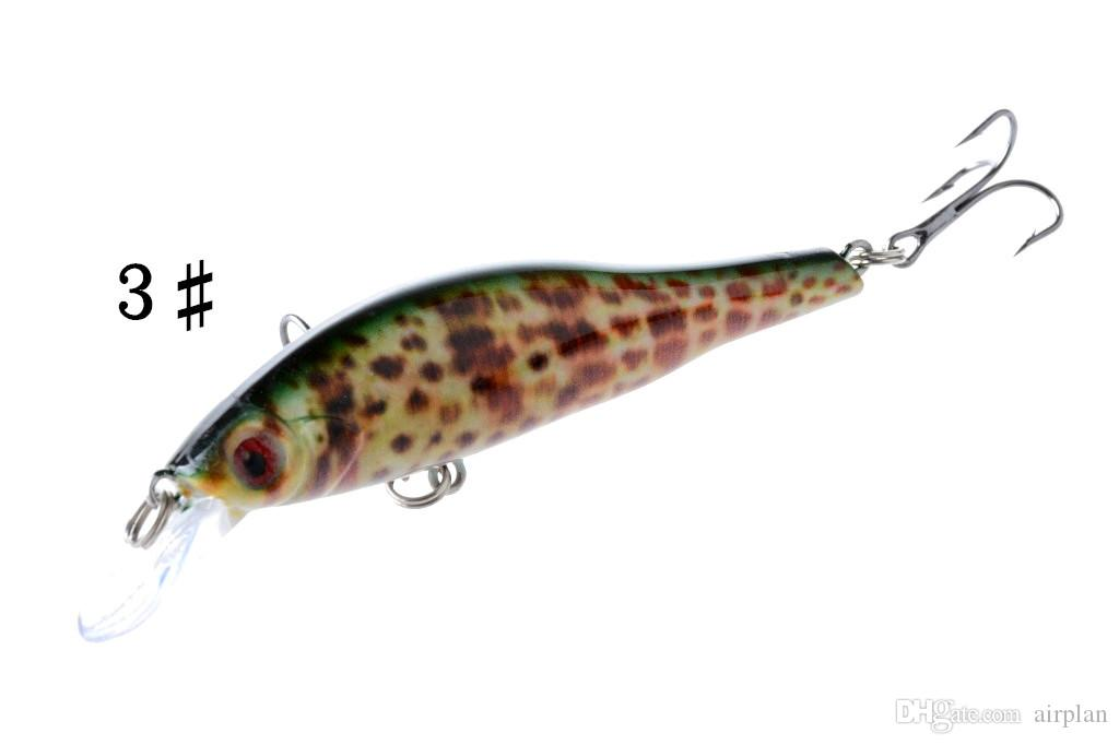 of bionic plastic fishing lures 9.5cm/11.5g artificial swimbait wobbler bass crankbait hard fishing tackle fake fish with pesca hooks