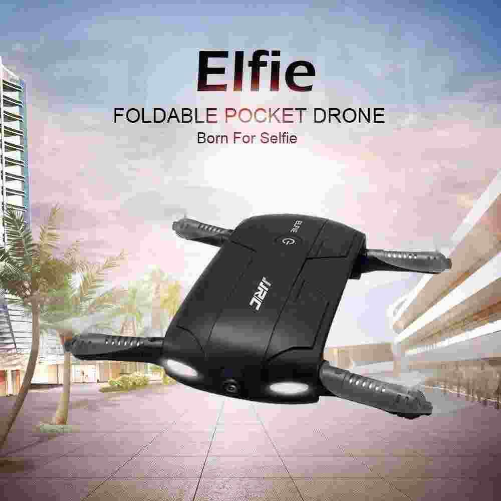 JJRC H37 ELFIE Portable Mini RC Drone with Camera WiFi FPV With G-sensor Remote Control Quadcopter Helicopter Dron Toys