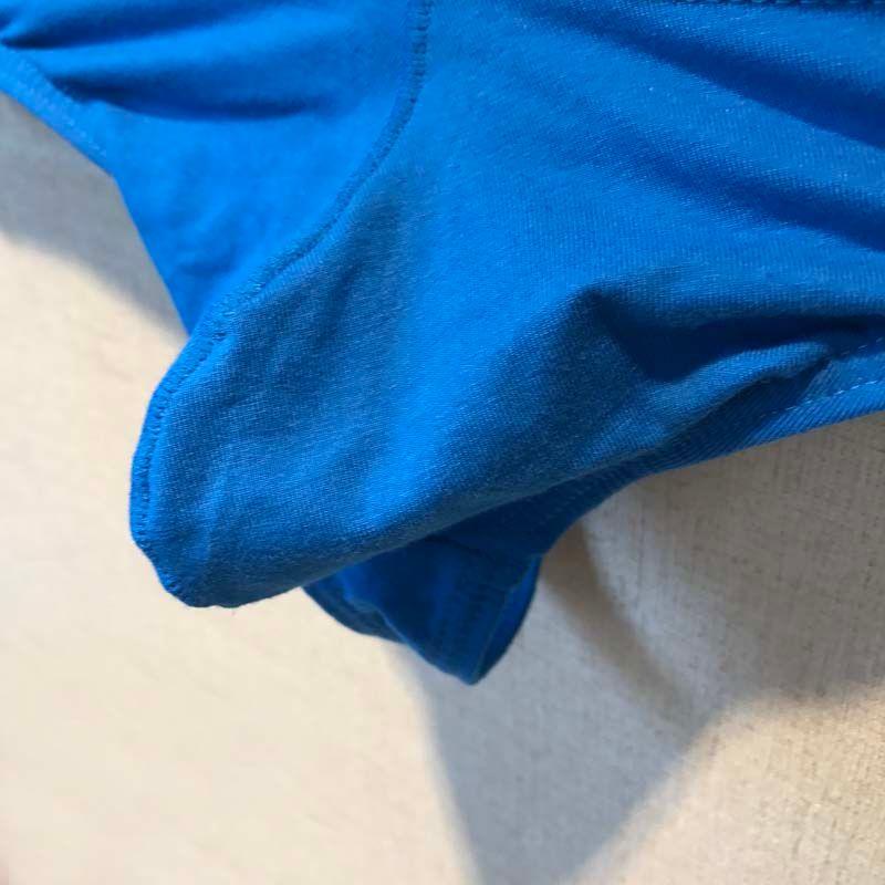 cheap Low-waist cotton men's underwear U convex mens thongs and g strings pouch tanga uomo sexy mannen ondergoe underwear cock