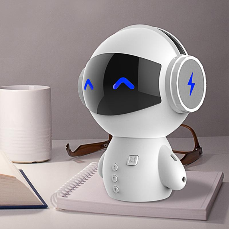 Robot Bluetooth Speaker With Power Bank -New Date Mini Portable Robot Smart Blueototh Speaker With Power Bank Function
