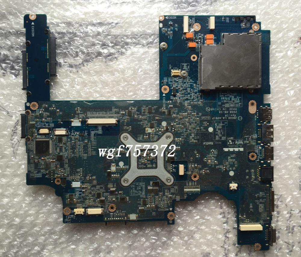 For HP Pavilion DV7 dv7 dv7-1100 dv7z-1000 dv7z-1100 Laptop Motherboard 506124-001 JBK00 LA-4091P Socket S1 DDR2 Notebook Systemboard