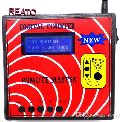 High Quality wholesale Remote Master Frequency Machine Regenerate Copy Auto Tool Key Programmer Blue Screen Fixed/Rolling Code Copy Machine