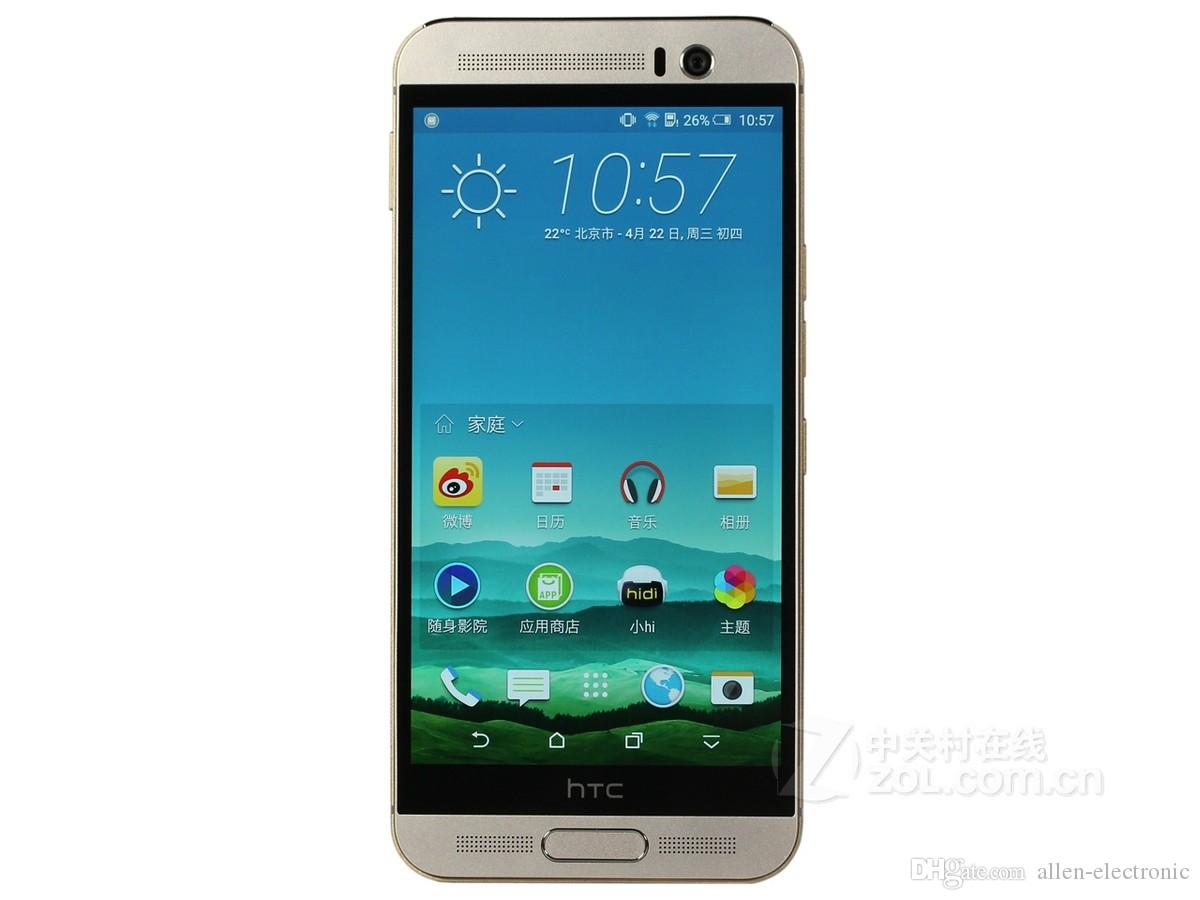 DHL gratis HTC One M9 Plus Octa Core 2.2GHz 3GB RAM 32GB Almacenamiento 20MP Cámara Duo 3D 5.2
