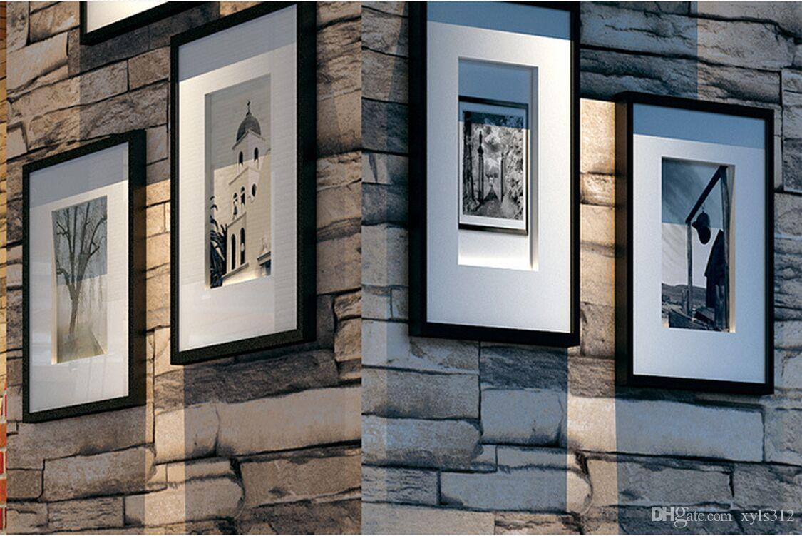 New 3D Luxury Wood Blocks Effect Brown Stone Brick 10M Vinyl Wallpaper Roll Living Room Background Wall Decor Art Wall Paper