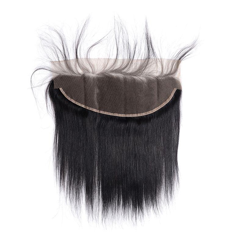 Человеческие волосы Бразильский Малайзии Перуанский Индийский 13X4 Кружева Фронтальная Предварительно Сорвал Волосы Волос Младенца Объемная Волна Свободная Волна Глубокая Волна Прямые Волосы Kinky