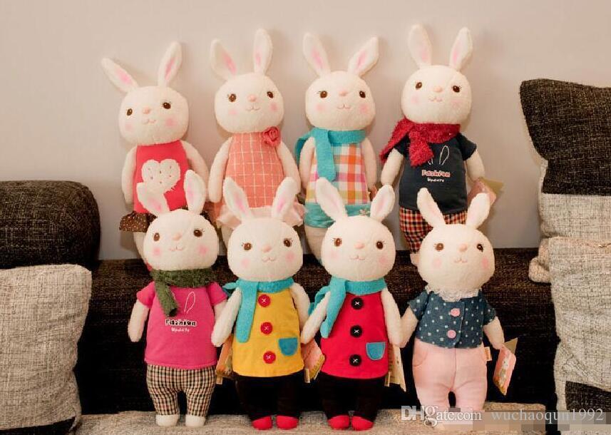 Оптово-Тирамис плюшевых игрушек METOO куклы детских подарки 8 стиль, 35см Кролик чучело LamyToy с подарочной коробкой, день рождения подарков
