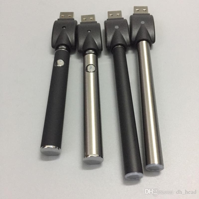 High Quality E Cigarette 510 concentrate oil Vaporizer Pre-Heating Function Mix2 and LO Battery With USB Charger For Thick Oil Cartridge