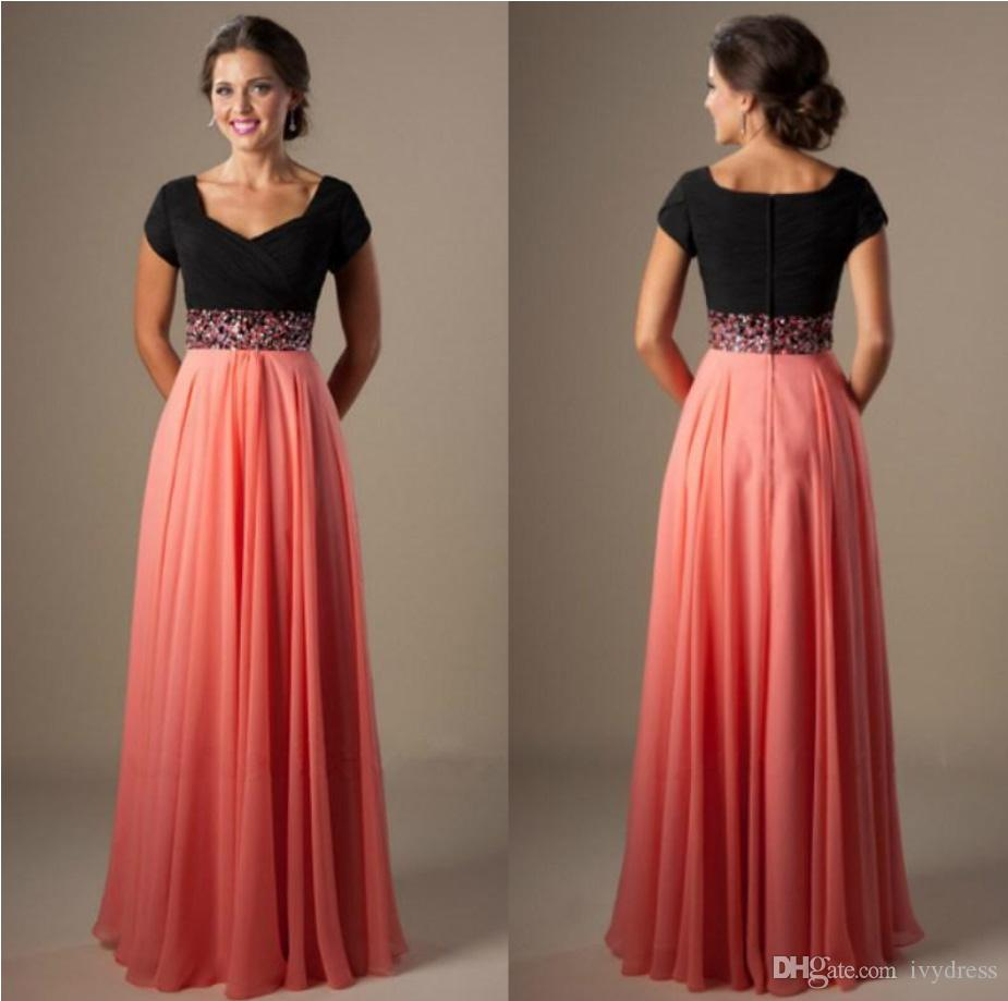 Cheap modest dresses for prom