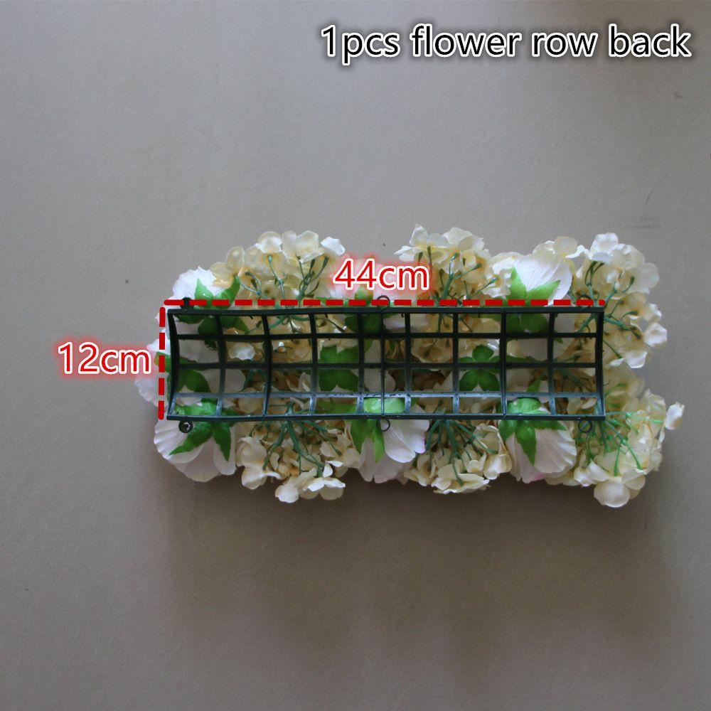 Simulation Wedding Rose Hydrangea Arrangement Flower Square Decorative Wedding Background Decorative/