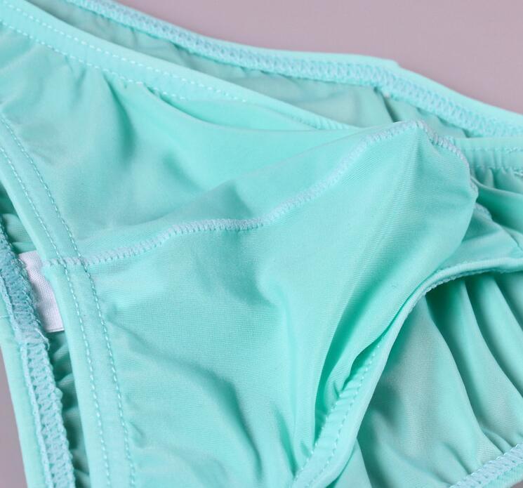New Sexy men Underwear Men's Briefs Male ultra Thin Breathable Low-waist Bikini Briefs Size M-XXL gay underwear