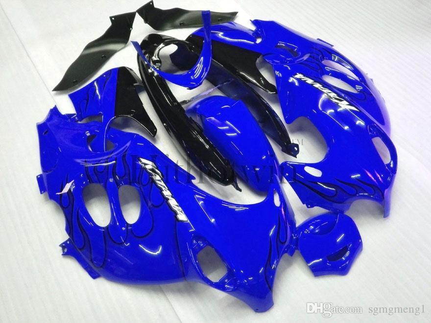 Carenado plástico del ABS del mercado de accesorios para Suzuki GSX600F Katana 2003-2006 GSX 600F 03 04 05 06 conjunto rojo de la carrocería de la llama