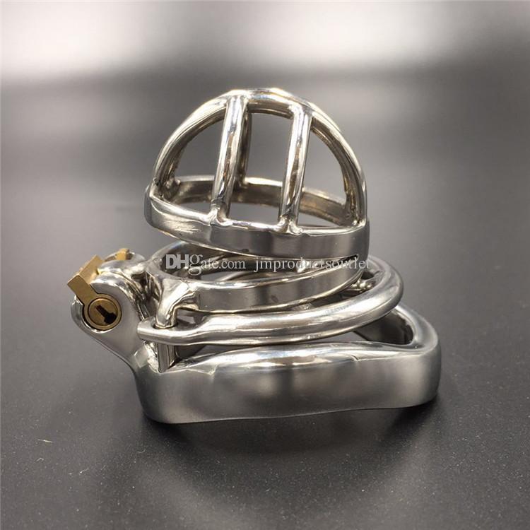 Facile da fare pipì design 50mm lunghezza del dispositivo 30mm lunghezza gabbia castità cb dispositivi di castità maschile gli uomini