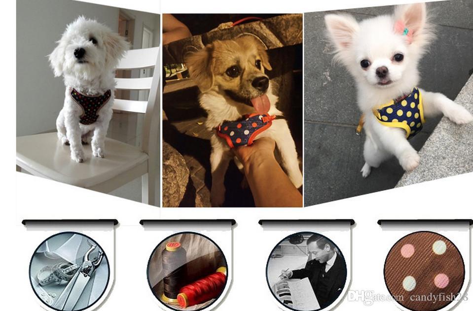 A2 Ev Bahçe Pet malzemeleri Köpek tasma küçük köpekler göğüs sapanlar pet köpek köpek zinciri çekme halatı