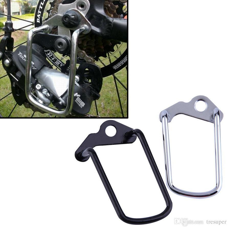 사이클 변속기 변속기 보호대 좋은 품질 조정 가능한 내구성 자전거 자전거 자전거 후면 변속 체인 스테이 가드 기어 보호 장치