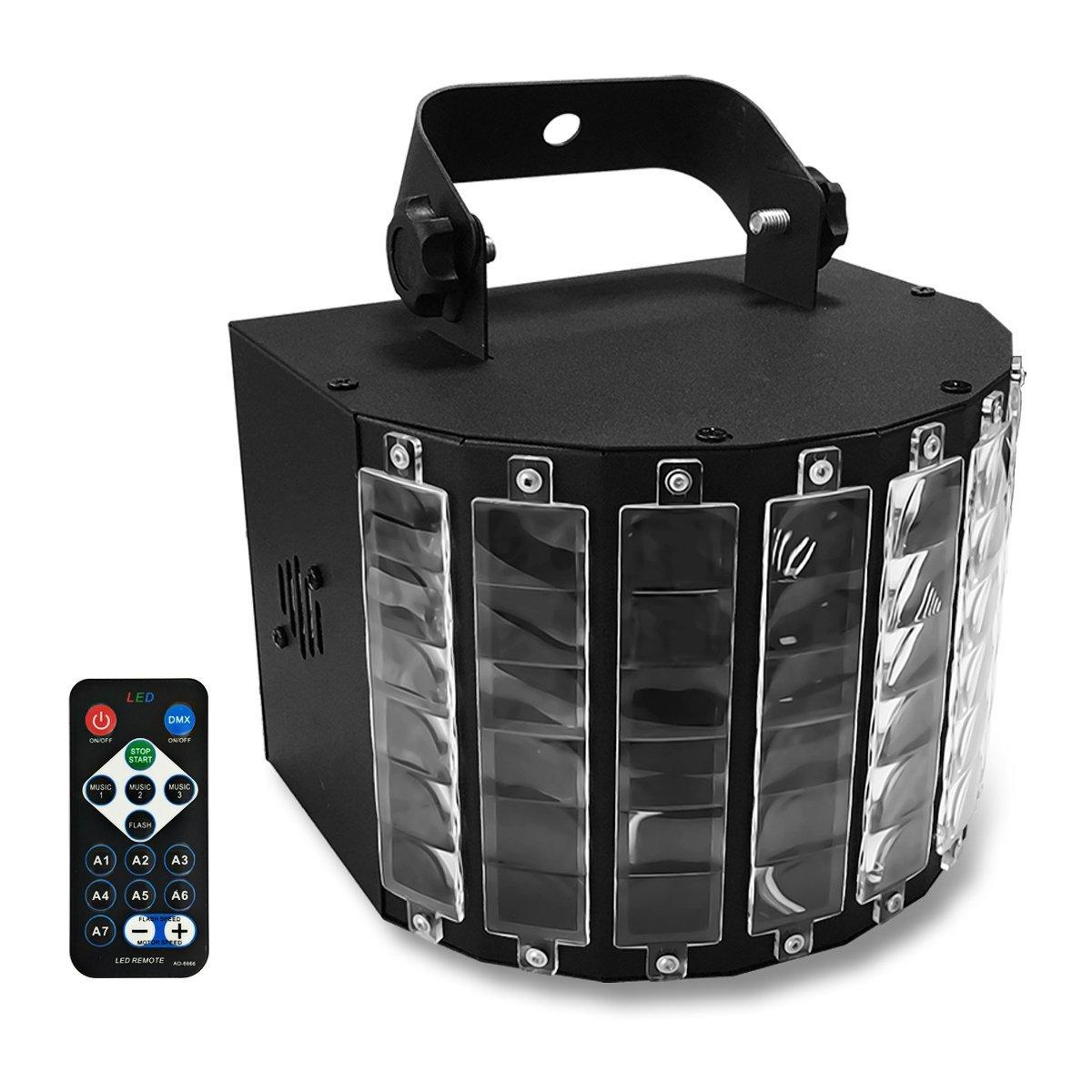 Powerful 27W Led Stage Effect Lighting DMX512 Voice Activated Remote Control Dj Disco Lights Equipment