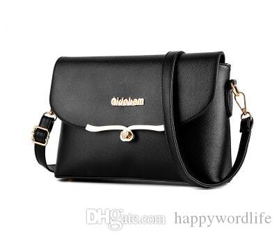 f526a557646 The New Young Korean Beautful Best Simple All Match Good Soft Lady Shoulder  Messenger Bag Fashion Personality Side Bags Handbag Brands From  Happywordlife