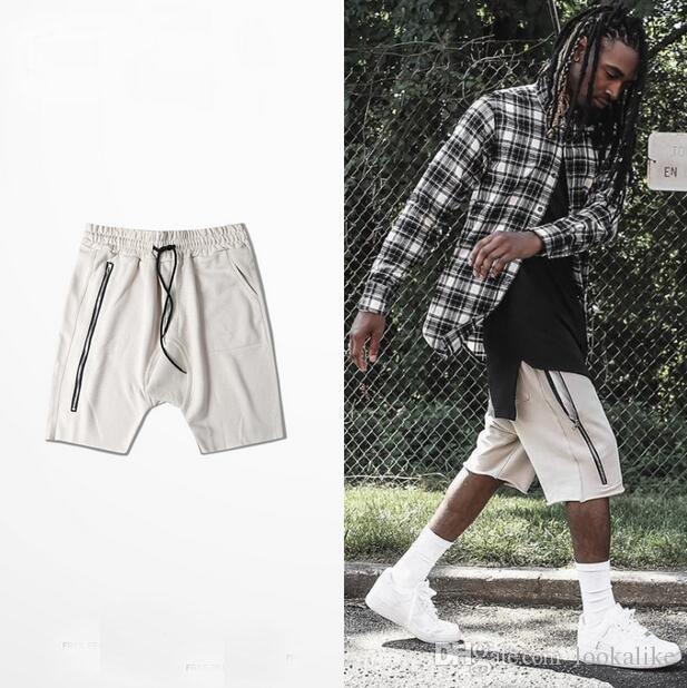 2017 2017 Spring Summer Mens Knee Length Harem Dance Pant Shorts ...