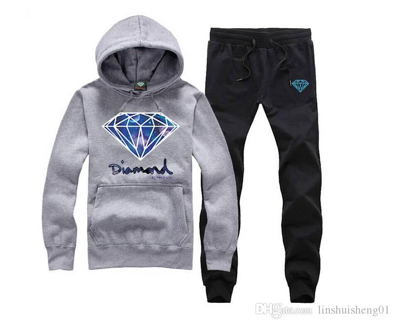 S-XXXL Diamond supply co men hoodie women street fleece warm sweatshirt winter autumn fashion hip hop primitive pullover Plus Size