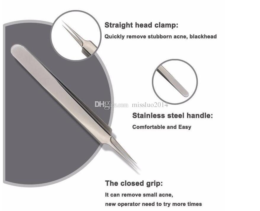 Blackhead pro Pimple Blemish Extractor Blackhead Remover Tools Black Head Acne Remover Needle Facial Tool Kit Skin Care Product
