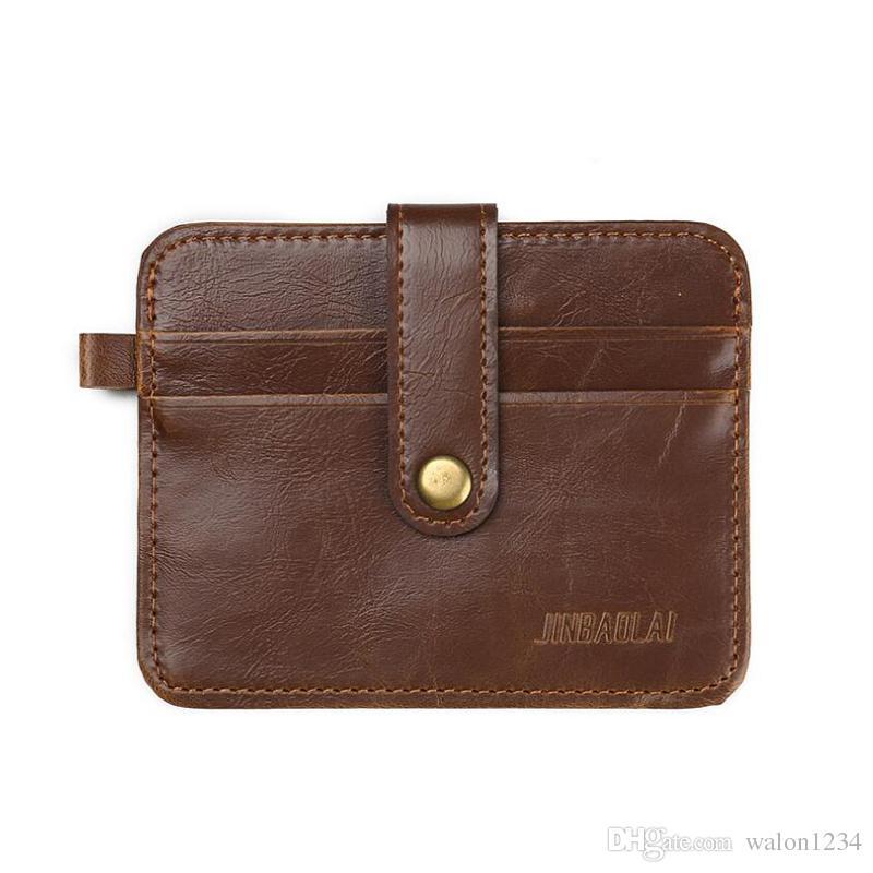Wholesale Mini Wallets Small Purse Leather Wallet Men Purses Women Crazy  Horse Leather Vintage Style Best Wallets Buxton Wallets From Walon1234 30d3aa6e46361