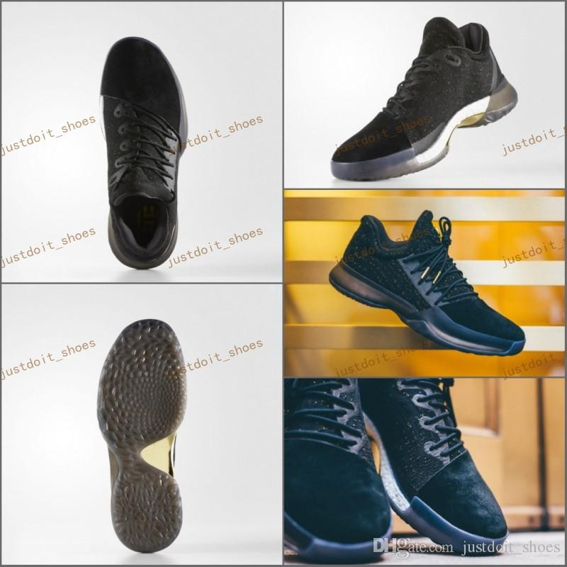2017 New Harden Vol. 1 Imma Be A Star Mens Basketball Shoes Black Gold  Fashion James Harden Shoes Outdoor Sports Training Sneakers 40 46 Kids  Basketball ... ce841a1c6