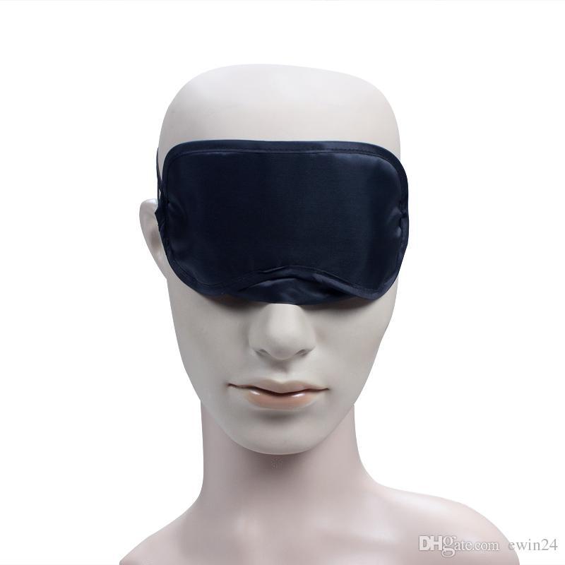 Schwarz-Schlaf-Augen-Masken-Schatten-Schlafen-Rest-Abdeckung Augenbinde-neue Außenluft-Spielraum-Großverkauf Vermeiden Sie direktes Sonnenlicht