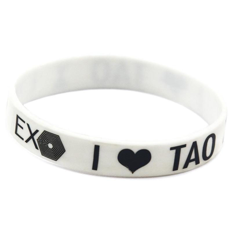 Adult Größe EXO-Silikon-Gummi-Armband Großgewöhnungs In jedem Vorteile Geschenk für Musik-Fans