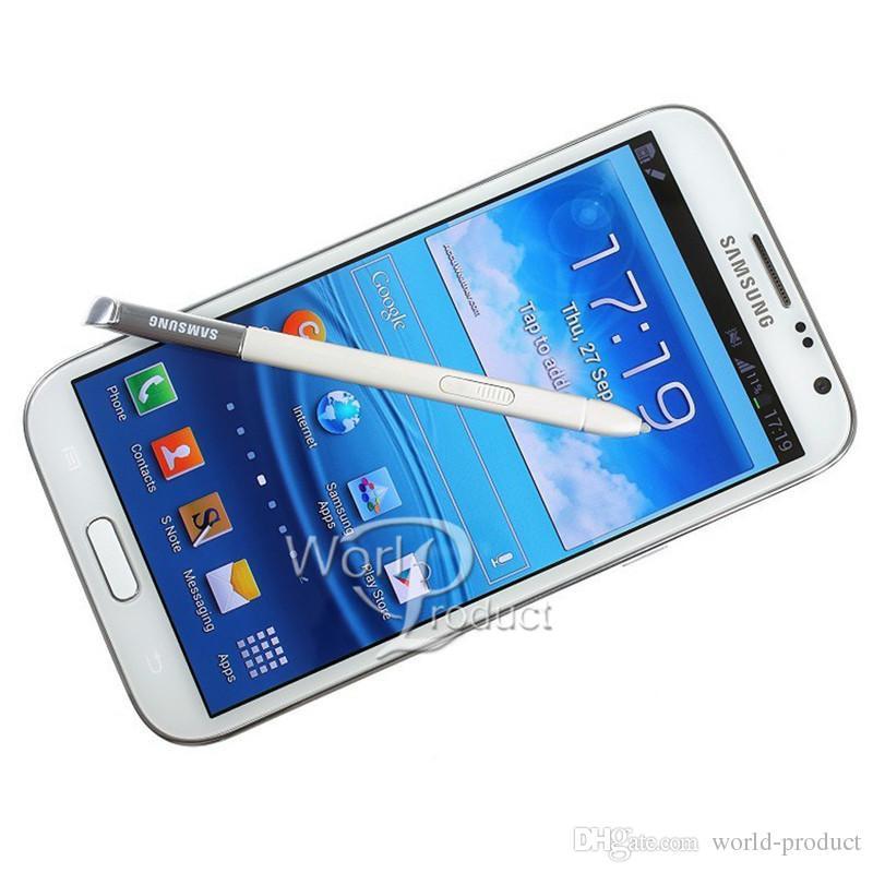 Samsung originali Samsung Galaxy Nota 2 N7100 Quad Core Smartphone 2 GB RAM 16GB ROM 8.0MP Camera