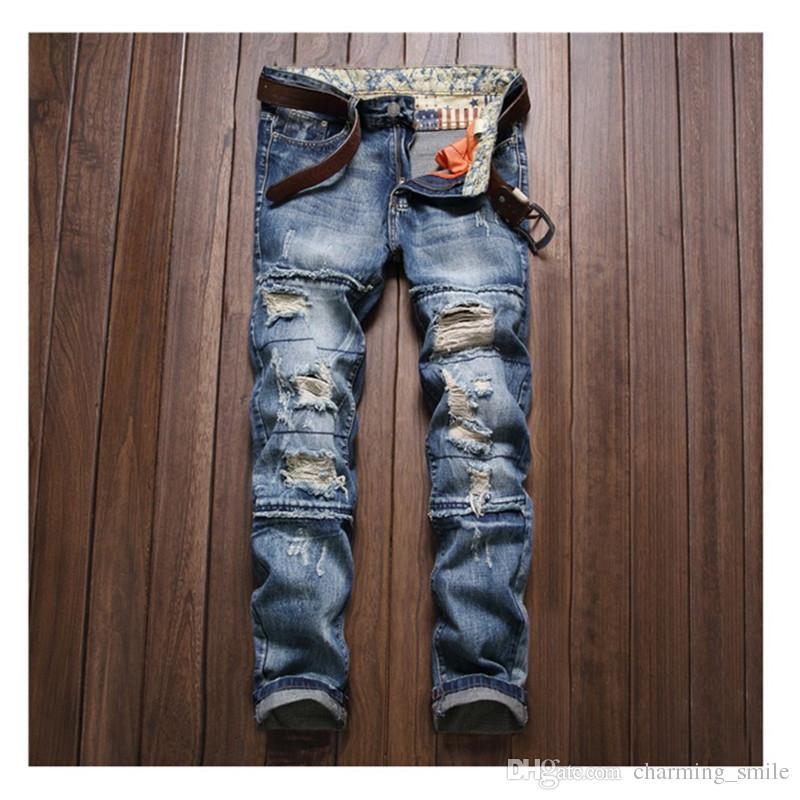 c79565d1 2017 Hot Sale Silm Vintage Jeans for Man Top Quality Straight Mans Jeans  Fashion Men's Pants Jeans for Men Jeans Mans Jeans Online with $41.5/Piece  on ...