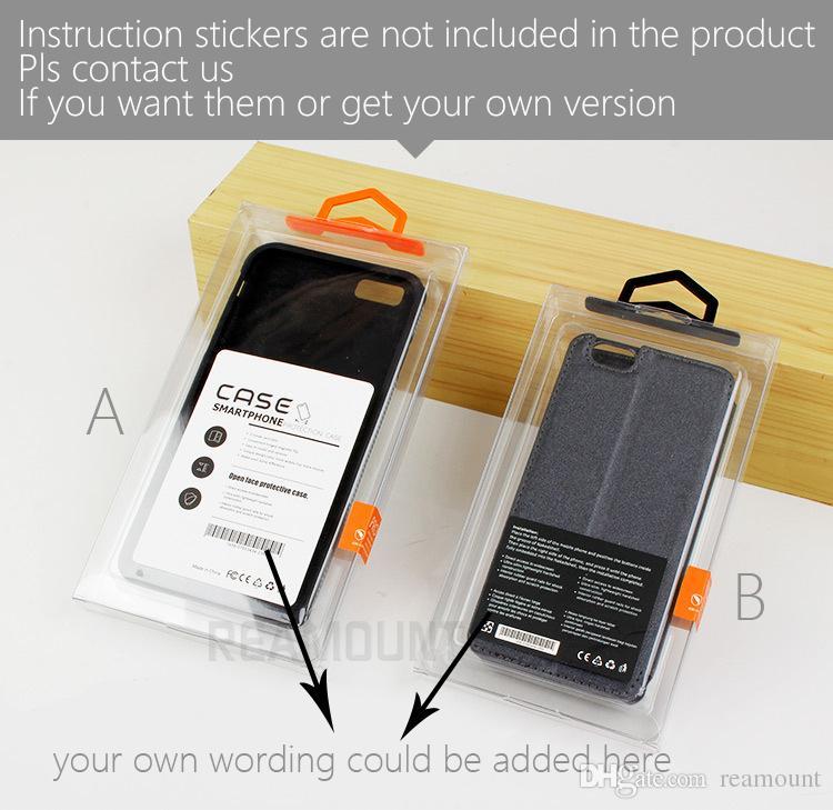 100 шт. Горячий Продавать Чехол для Мобильного Телефона ПВХ Пластиковая Розничная Упаковка Коробка для iPhone 7 плюс 6 Plus Чехол