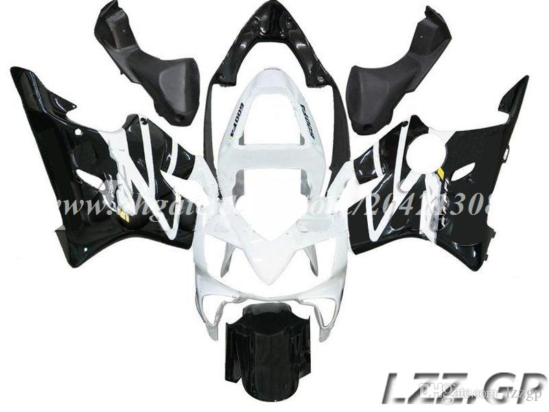 white black for Honda CBR600 F4i 2001-2003 2002 CBR600F4i 2001 2002 2003 CBR600F4i 01 02 03 fairing kits #4w7m1 injection fairings