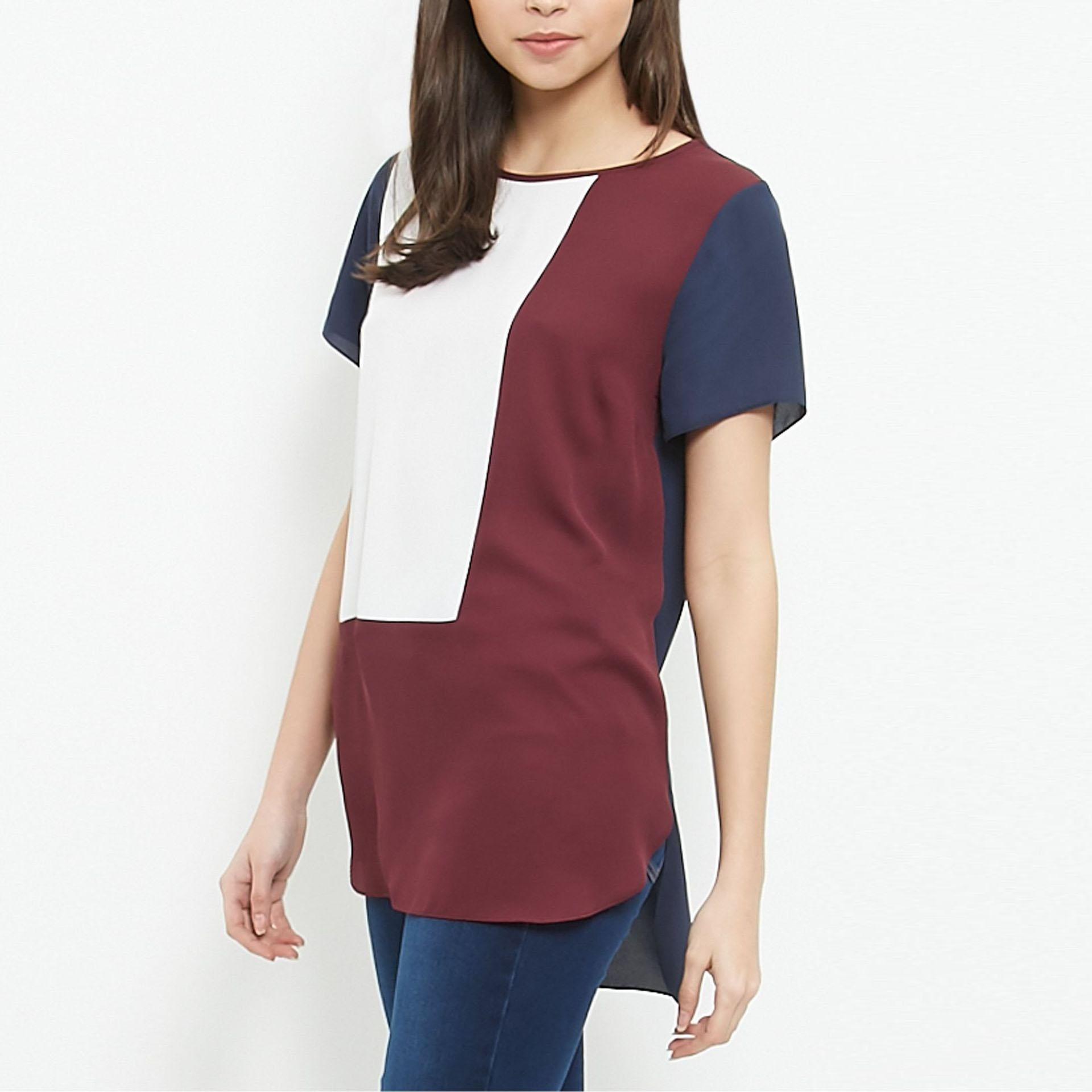 b3edc1cc54e 2019 2017 Summer Plus Size 6XL Loose Casual Long Chiffon Shirts Blouse For  Women Patchwork 5XL 6XL Tops Shirt From Applegloves