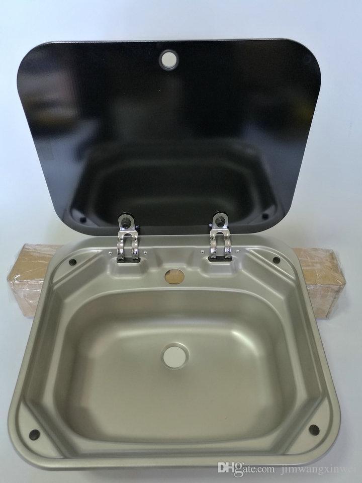 Acquista Lavabo Da Cucina A Rulliera In Acciaio Inox Rettangolare ...