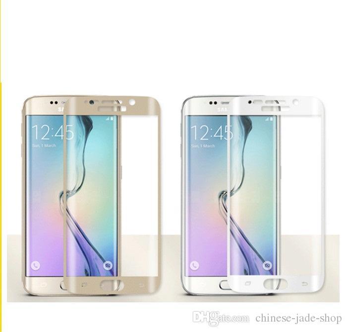 Для Samsung Galaxy S6 край S6 край плюс S7 S7 край S8 S8 плюс Примечание 8 полное покрытие 3D изогнутые закаленное стекло протектор экрана в розничной упаковке 100