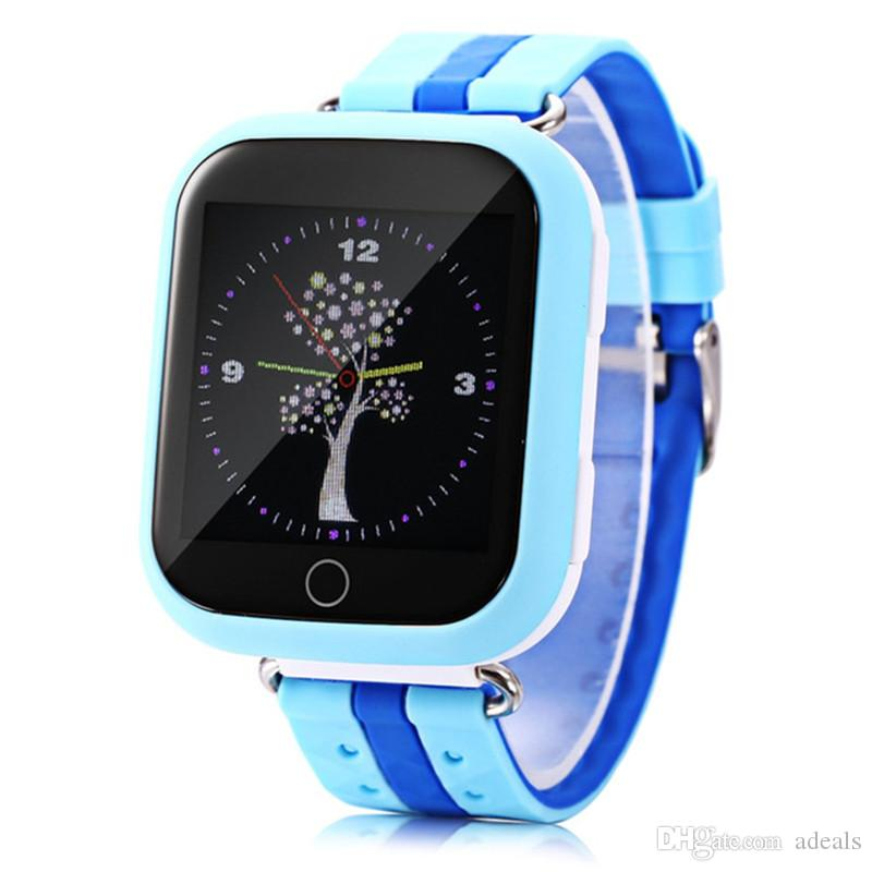GPS smart watch Q750 Q100 baby watch with Wifi 1.54inch touch screen SOSCall Location Device Tracker Kid Safe