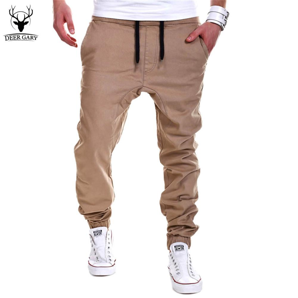 9b9a1b623c6219 2019 Wholesale 2016 New Fashion Men Cross Pants Tether Casual Loose ...