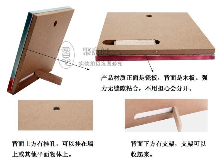 Il muro Cina vento dipinto a mano creativo ceramica cheongsam ornamenti regalo pacchetto di posta per inviare gli stranieri all'estero in Affari esteri