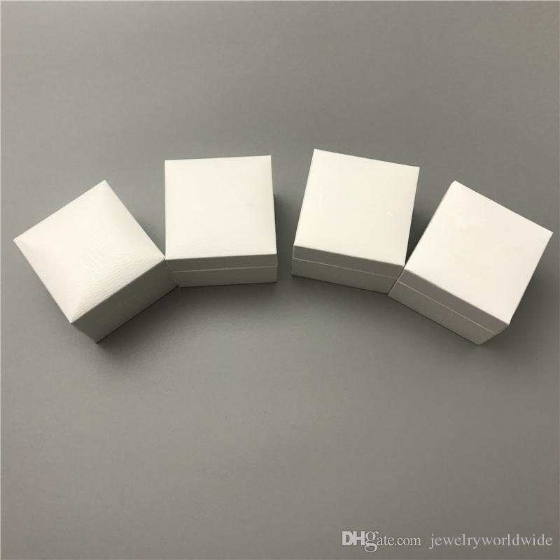 4 Different White Paper Box For Pandox Disny Perks Black Velvet Inside Jewelry Boxes For Charm Bead Earrings Ring Pendant Packaging Display