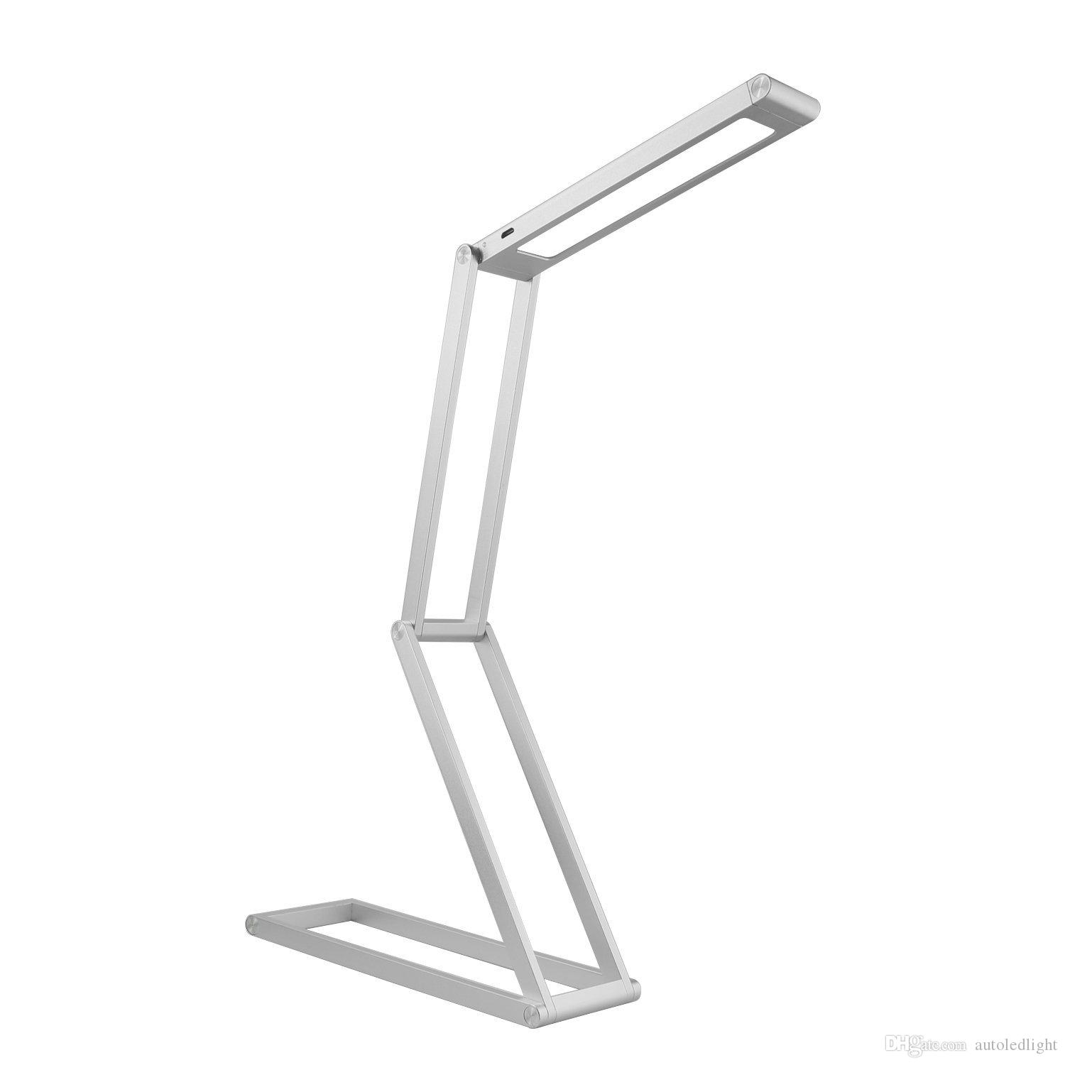 Foldable LED Desk Lamp Transformers Dimmable Table Aluminum Alloy Lamp for Reading studing relax for room