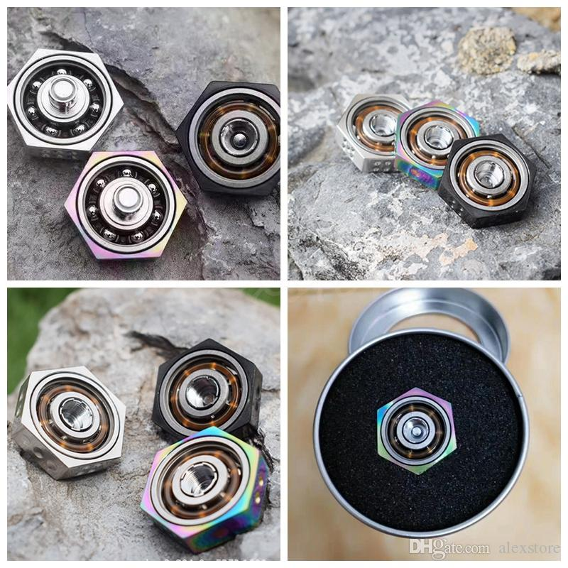 VAPE SPINNER Finger Spinner Fidget Toy Torqbar Atomizer Box Mod Parts 510 Thread Connector Extender 4 colors fit RDA RTA RDTA DHL