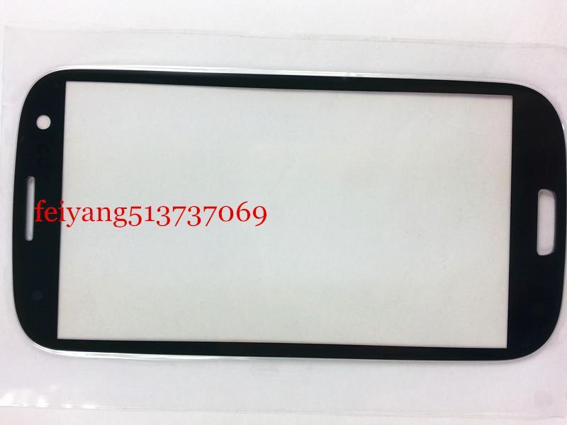 Reemplazo exterior de cristal para Samsung Galaxy S3 i9300 i535 I747 L710 pantalla táctil LCD frontal de cristal externa de la lente
