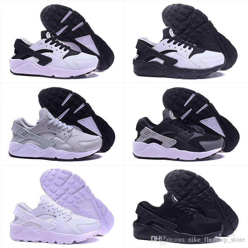 c80d344b0ca544 2018 Air Huarache I Running Shoes For Men Women Green White Black ...